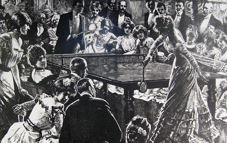 Luitpoldblock Ping Pong im Café Luitpold 1901