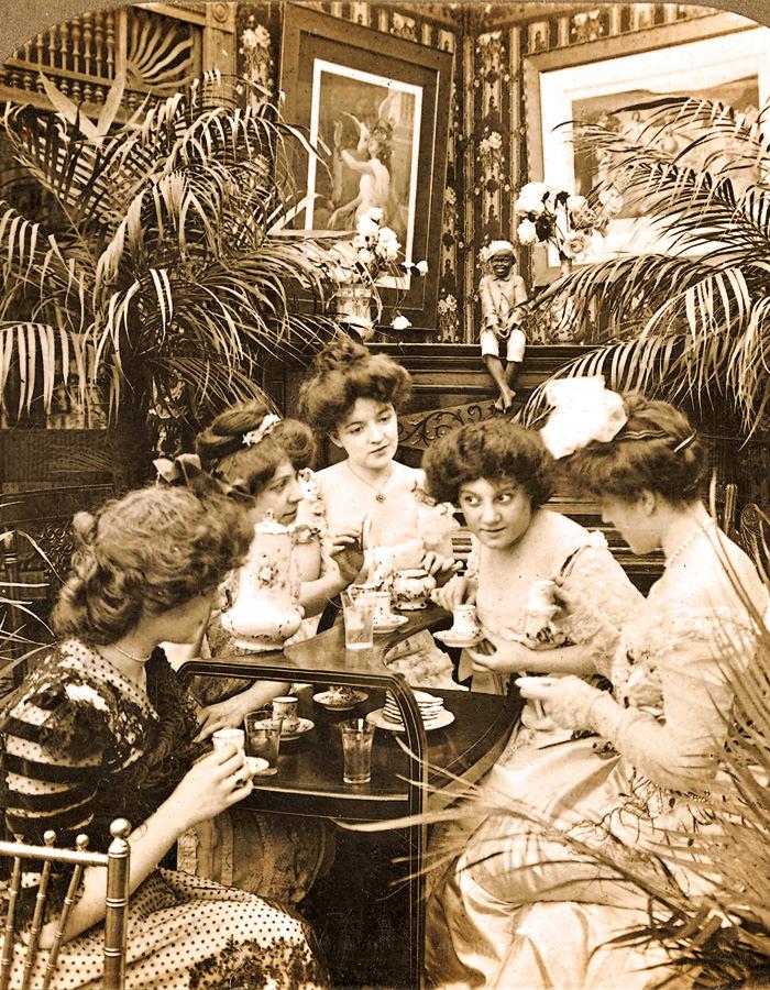 Luitpoldblock Cafe Luitpold Sammlung Café Luitpold Frauenbewegung