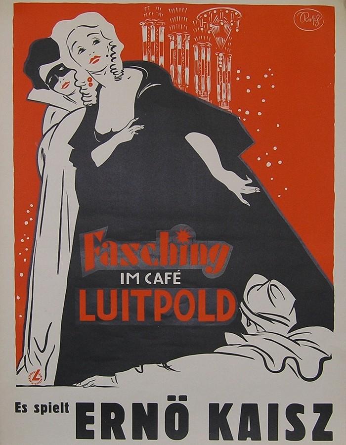 Luitpoldblock, Fasching im Cafe Luitpold