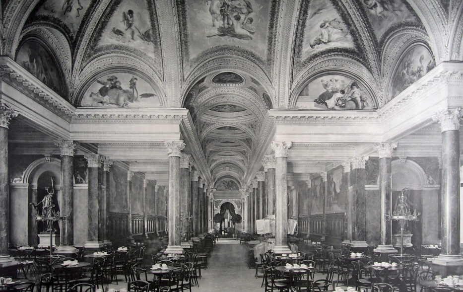 Café Luitpold, Die große Säulenhalle, 1888