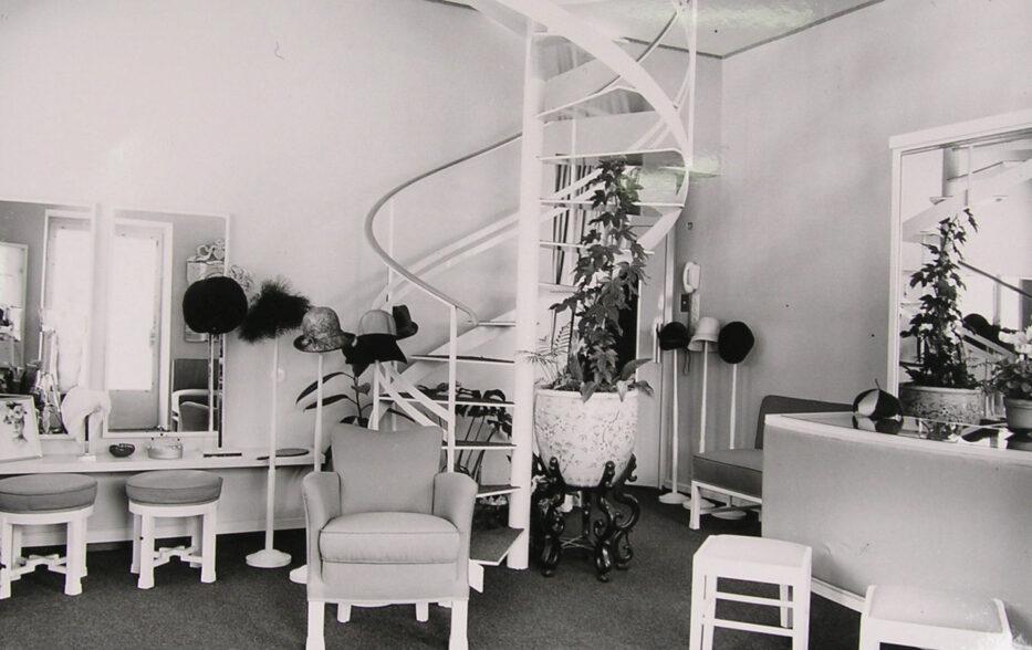 Hutsalon, Berta Häusler, 1950