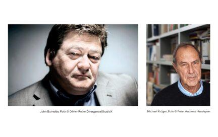 Séancen mit Substanzen, John Burnside und Michael Krüger