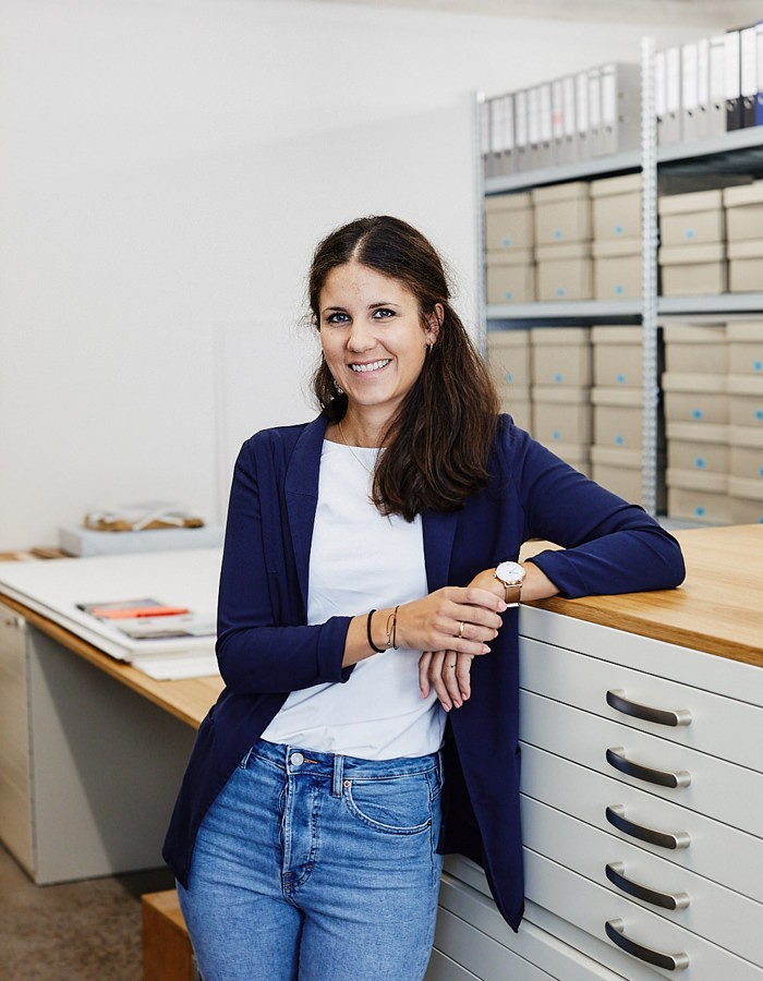 Charlotte Meinardus-Stelzer, Archivarin