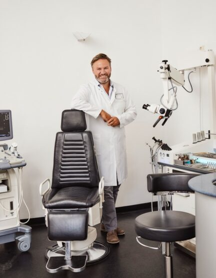 Luitpoldblock, Praxis Dr. Klingmann