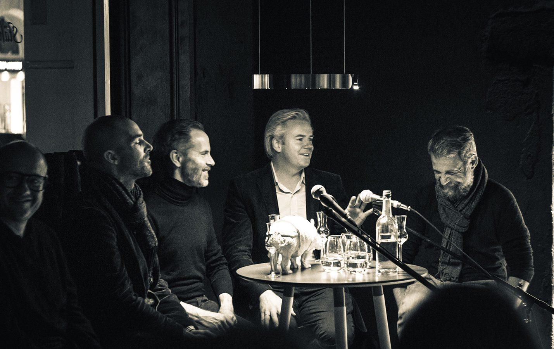 Luitpoldblock, Stählemühle Pop Up –Shut Down, Tresenpalaver am Donnerstag, 15.11.2018