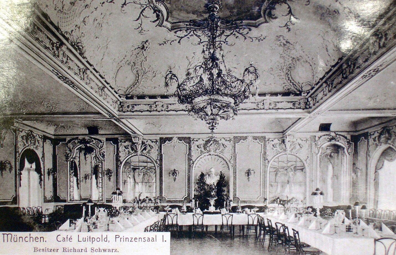 Luitpoldblock, Prinzensaal, Cafe Luitpold