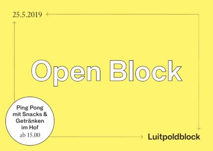 Luitpoldblock, Open Block
