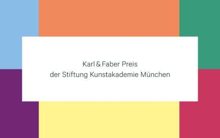 Karl & Faber Preis der Stiftung Kunstakademie München