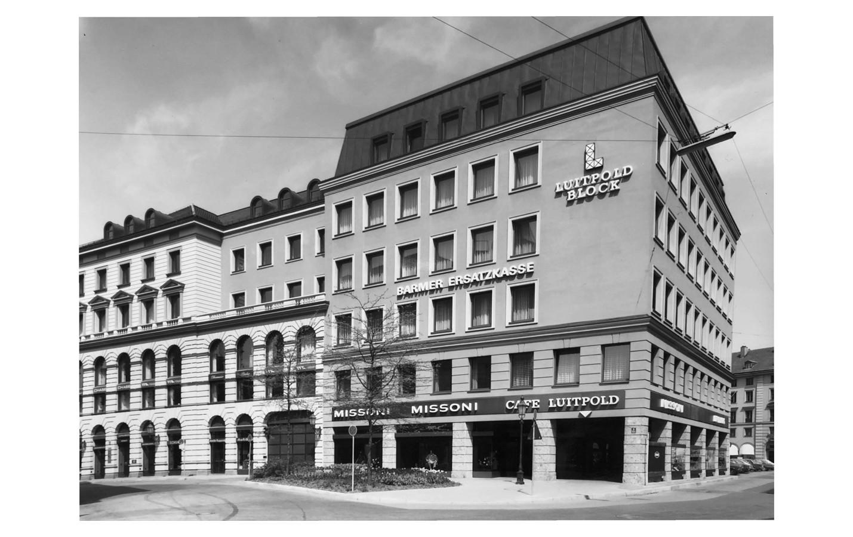 1972 Amiraplatz, Neubau