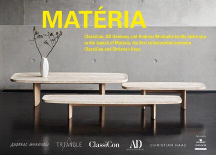 Christian Haas, Materia